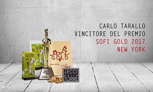 Carlo Tarallo: premiato come miglior Snack Salato nei Sofi Awards USA 2017
