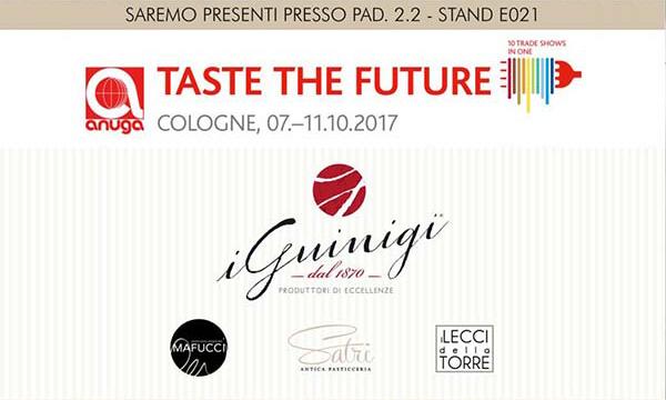 I Guinigi presenti all'edizione 2017 di Anuga